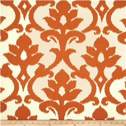 Richloom Solarium Outdoor Basalto Tangerine Home Decor Fabric