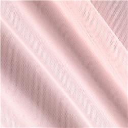 Spandex Stretch Illusion Shaper Mesh Light Pink