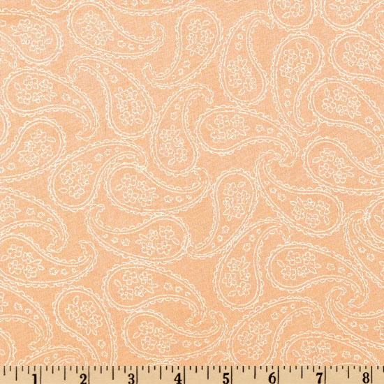 Baby Bunting Sketched Paisley Pink