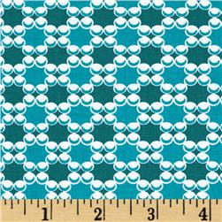 Downtown Dots & Plaids Teal
