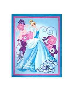 Disney Cinderella 36 In. Panel Blue