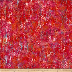 Bali Handpaints Batiks Water Droplets Coral Gables