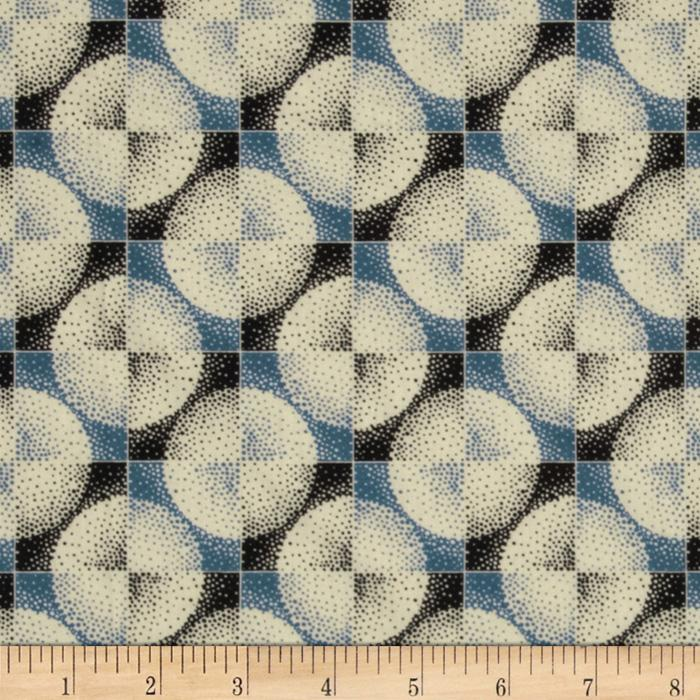 Greenfield Hill Voile Coterie Blueberry