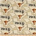 Moda Texas Proud Texas Proud Tan
