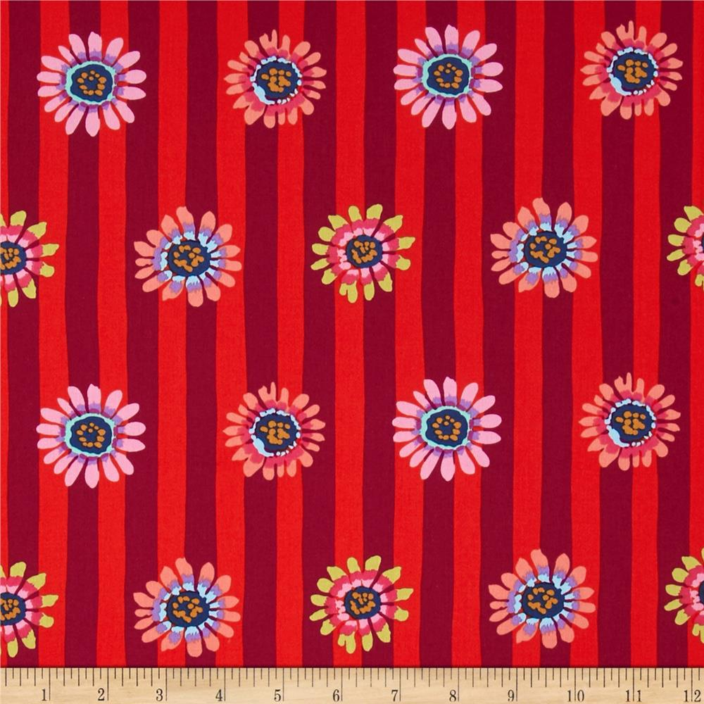 Kaffe Fassett Sateen Regency Red