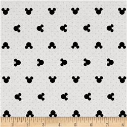 Disney Mickey Mouse & Friends Mickey Polka Dots White