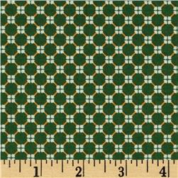 El Camino Geo Green Fabric