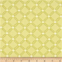 Moda Windermere Prints Fern Lattice Clover