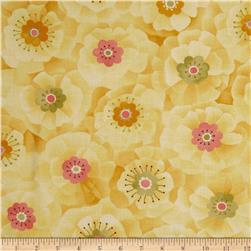 Moda Lulu Full Blooms Sunshine