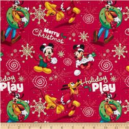 Mickey Mouse Holdiay Play Red