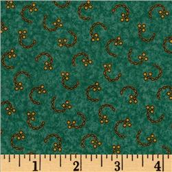 Floral Fancies Small Berry Turquoise