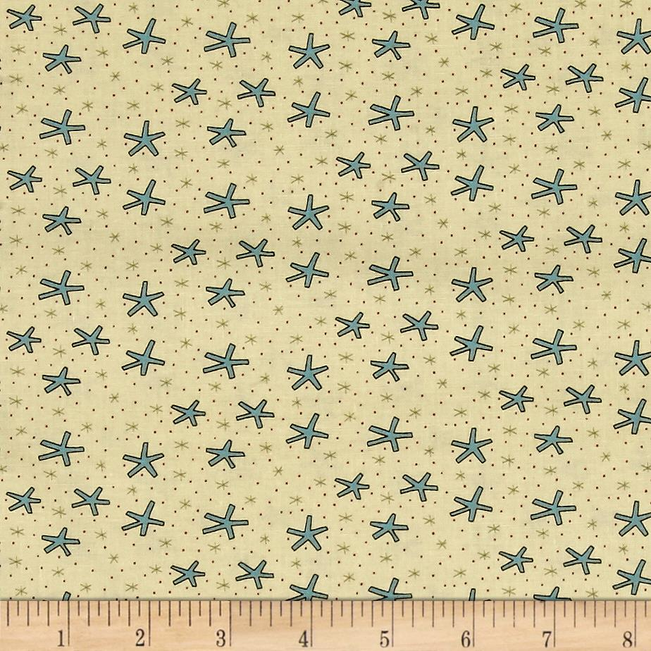 Celebrating Christmas Large Snowflakes Cream