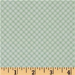 Penny Rose Bunnies & Cream Bunnies Gingham Mint