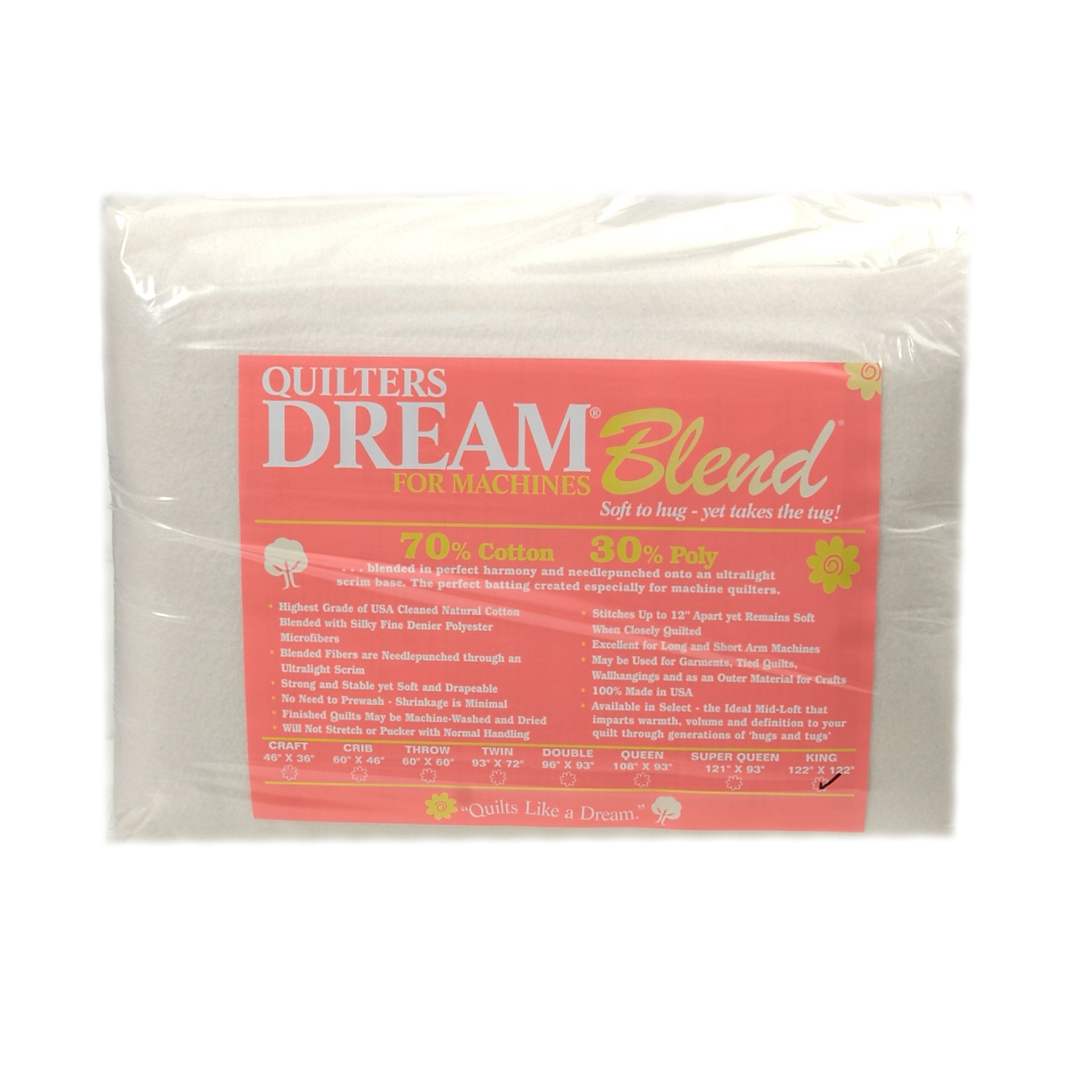 Quilter's Dream Blend (122'' x 120'') King by Quilter's Dream in USA