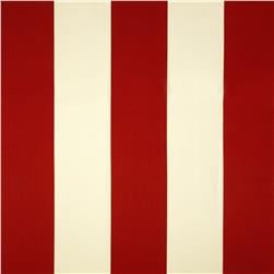 Bella-Dura Eco-Friendly Indoor/Outdoor Cabana Stripe Lloyd Flanders Red