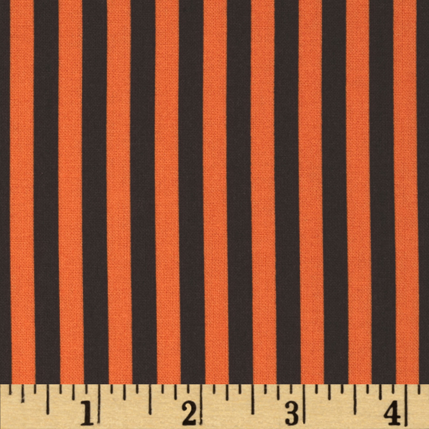 Michael Miller Clown Stripe Apricot Fabric