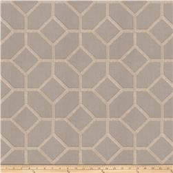 Fabricut Infatuation Embroidered Linen Blend Stone