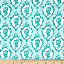 Riley Blake Ardently Austen Silhouette Teal