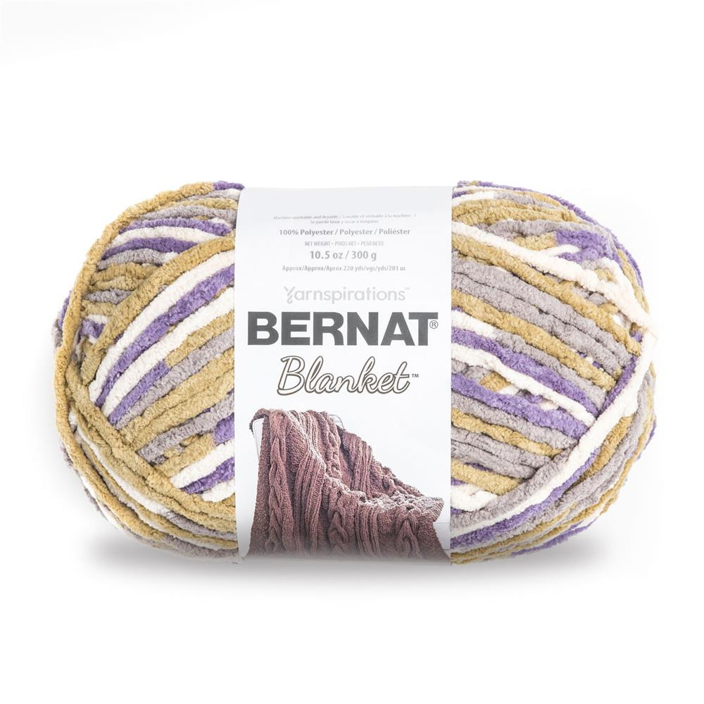 Bernat Blanket Big Ball Yarn (10185) Lilac Bush