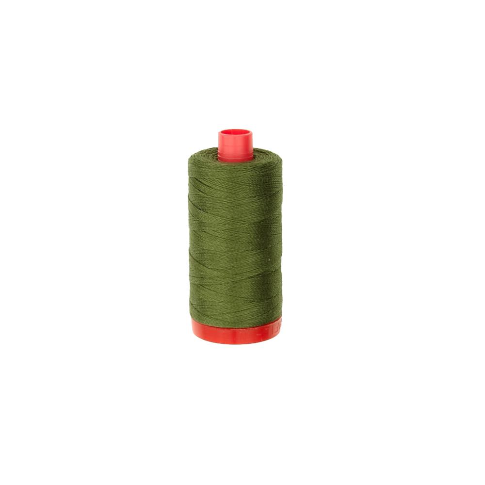 Aurifil 12Wt Embellishment and Sashiko Dreams Thread Olive