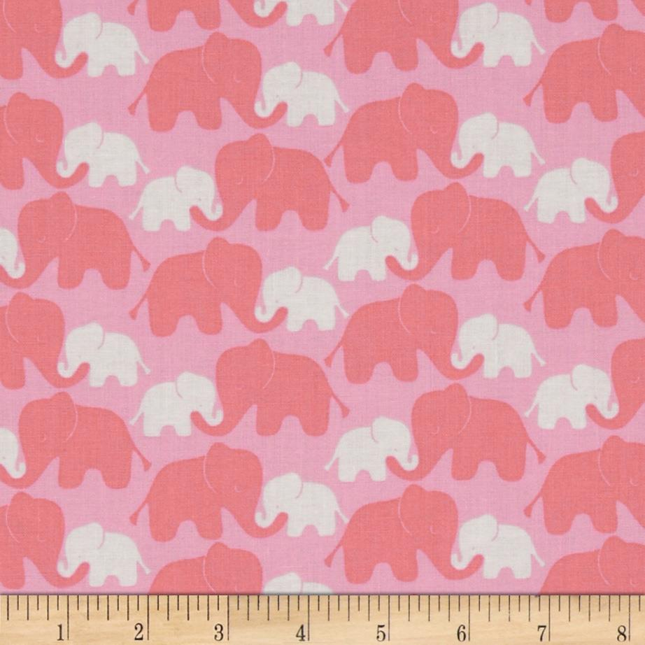 Imaginarium Elephants Pink