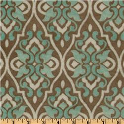Mar Bella Minky Valencia Cuddle Marina Blue Fabric