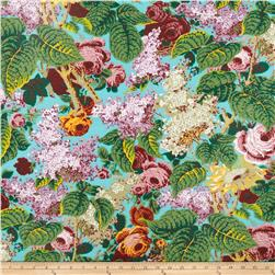 Kaffe Fassett Spring 2014 Collective Marble Lilac Turquoise