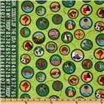Girl Scout Fabric