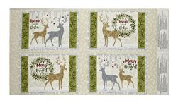 "Holiday Meadow Placemat 24.5"" Panel Multi"