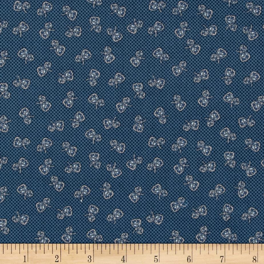 Penny Rose Forget Me Not Petal Navy