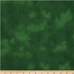 "108"" Wide Flannel Mottled Green"