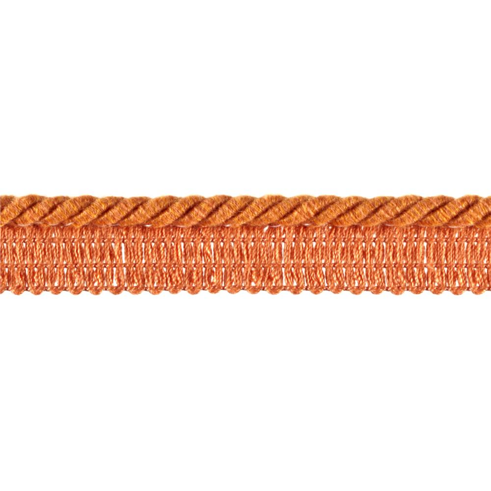"Duralee 1/4"" Lip Cord Papaya"