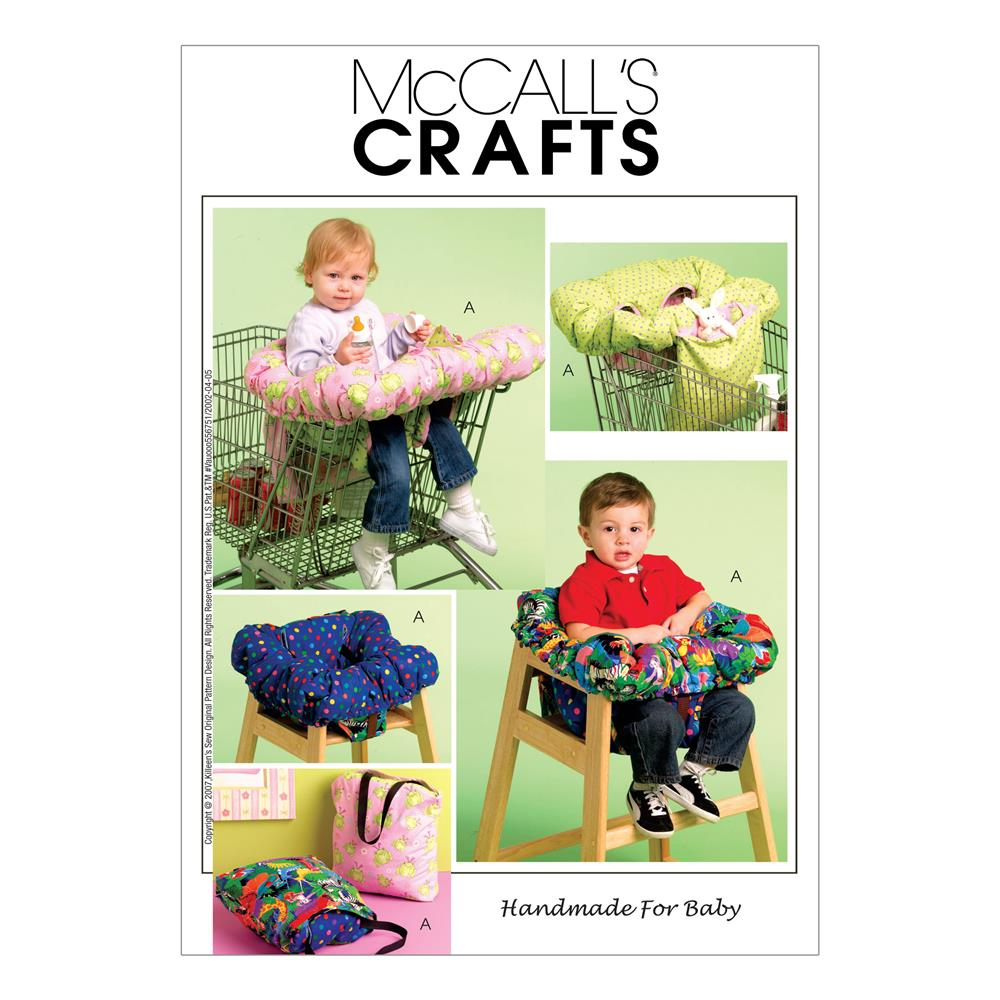 McCall's 3-In-1 Shopping Cart Cover Pattern M5721 Size