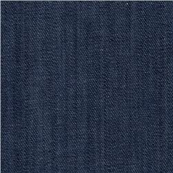 Stretch Denim Medium Wash Cool Blue