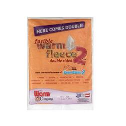 Warm Fleece 2 Fusible Batting 45'' x 36