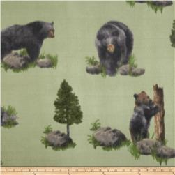 Black Bear Fleece Green/Black
