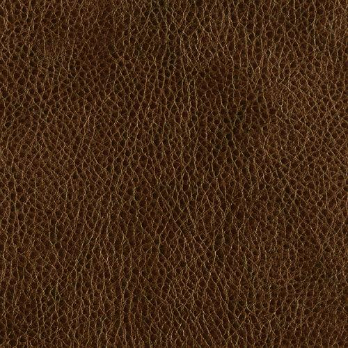 Faux Leather Fabric Bison Caramel