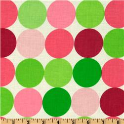 Michael Miller Disco Dot Sorbet Fabric