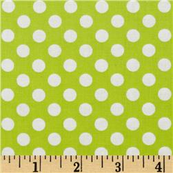 Spot On Medium Dot Chartreuse