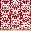 Riley Blake Ikat Jersey Knit Red