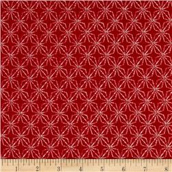 Chalk it up to Winter Flannel Star Red