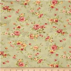 Moda Roses & Chocolates Spaced Floral Mist