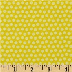 Whoo Loves You Dots Yellow