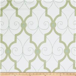 Fabricut Galium Lattice Spearmint