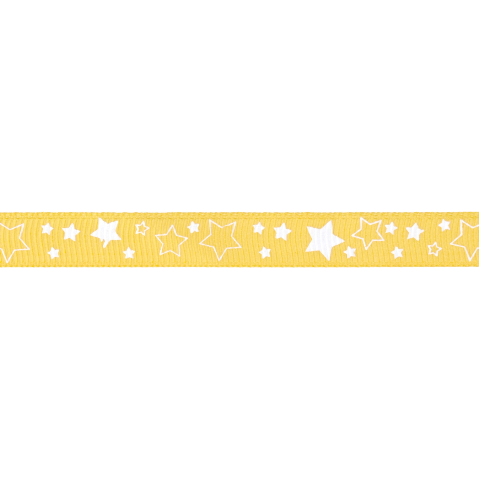 Riley Blake 3/8'' Grosgrain Ribbon Stars Yellow