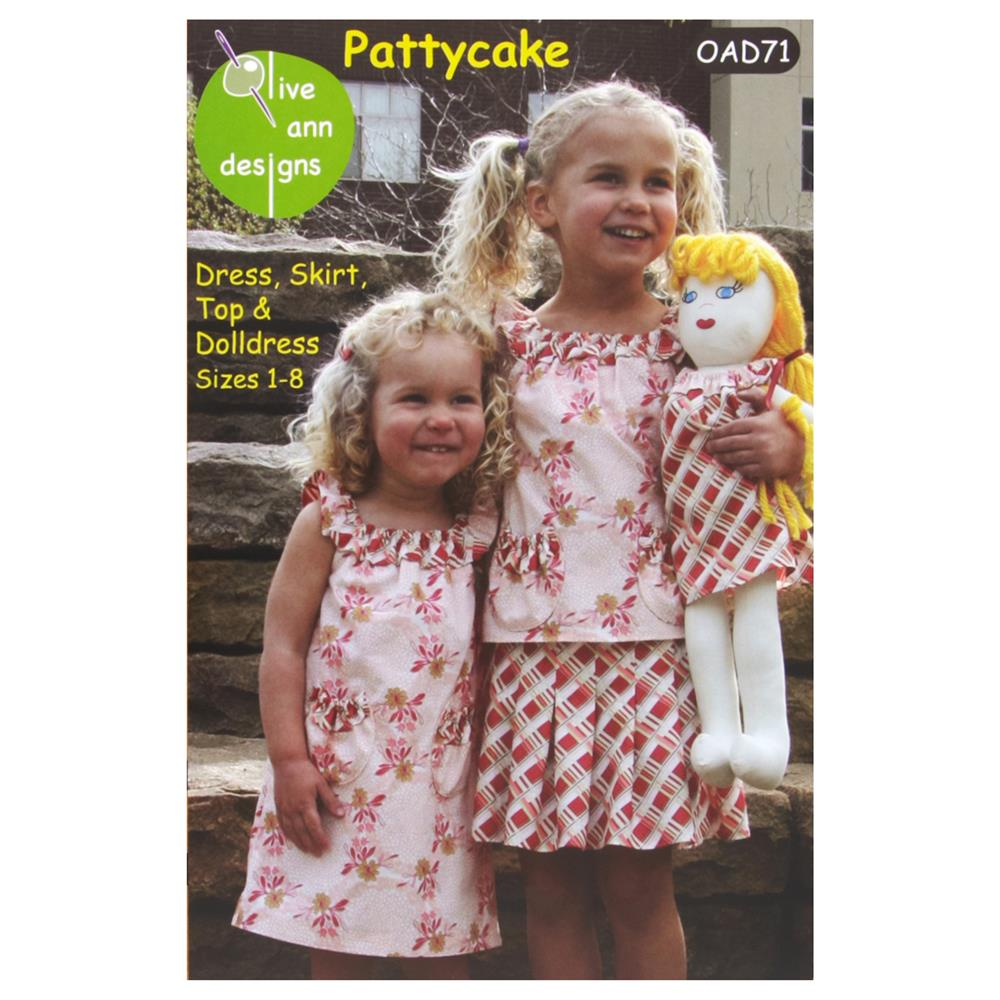 Olive Ann Designs Pattycake Dress, Skirt, Top &