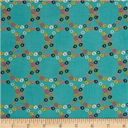 Nod to Mod Merry Go Round Teal
