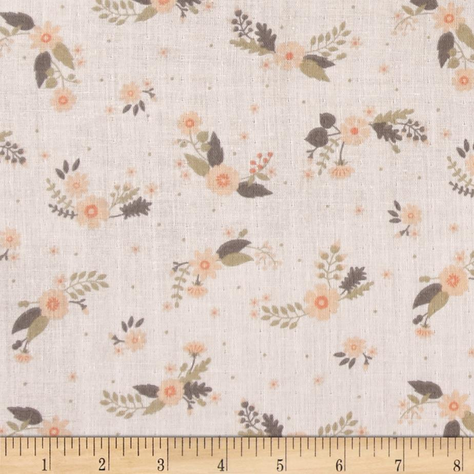 Ciana Bodini Double Gauze Flowers Light Peach