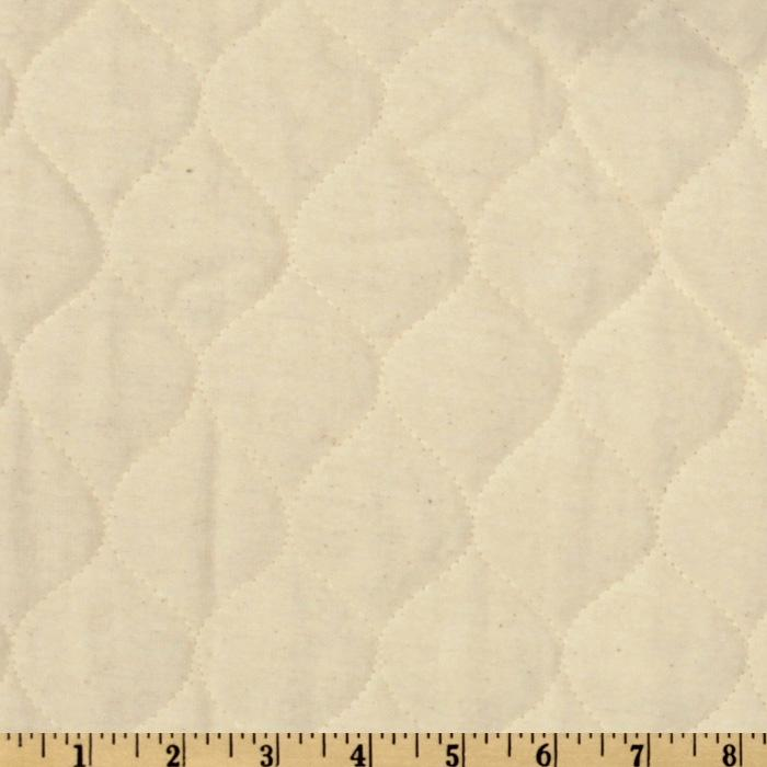 Quilted Flannel Natural