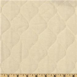 Quilted Flannel Natural Fabric